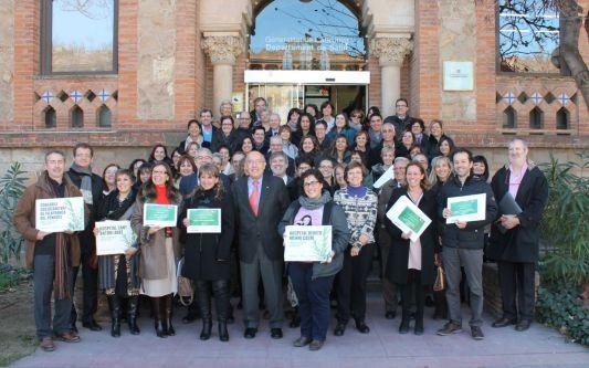Benito Menni CASM rep la certificació d'Argent de la Xarxa Catalana d'Hospitals sense Fum