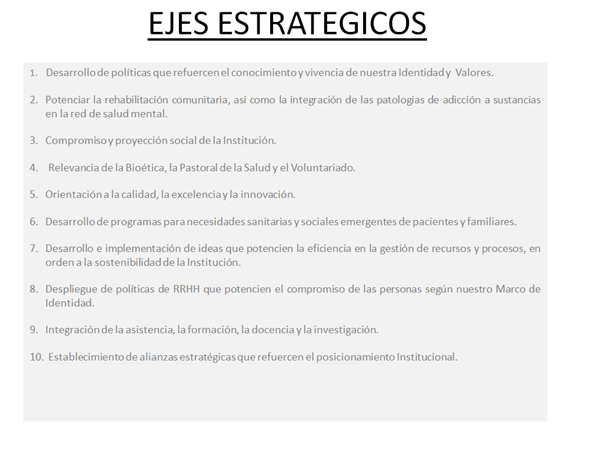 eixos esrtrategics