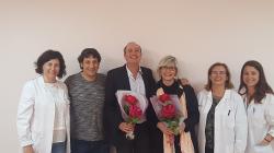 Els escriptors Burgas i Pradas apropen la literatura i St Jordi a l'Unitat de Crisi d'adolescents