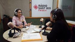 La Dra Azpiazu, parla sobre el Dia mundial de la salut Mental a Radio St Boi