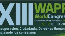 XXIII World congres -Associació Mundial de Rehabilitació Psicosocial (WAPR) Recuperació ciutadania, Drets humans. Revisant els consensos