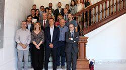 Benito Menni present a l'Espai de Relació Institucional del projecte Marianao Té Cor