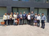 Representants del Departament de Treball, Afers socials i Família i del Departament de Salut visiten la Unitat Polivalent de Salut Mental de l'Hospitalet, de Benito Menni CASM