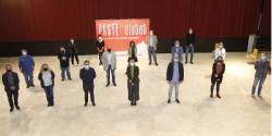 Benito Menni CASM amb el Grup promotor del Pacte Ciutat de St Boi