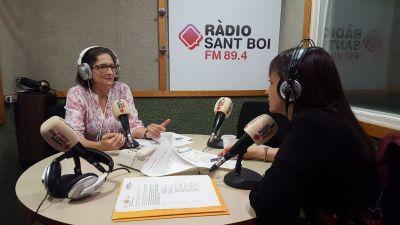 Dra Azpiazu a Radio St Boi