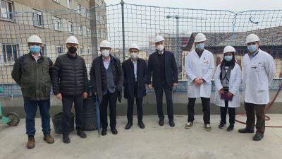 Visita d'obres a la nova unitat de subaguts de Granollers