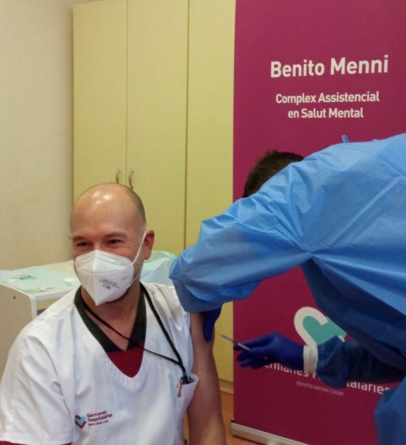 Vacunació a professionals