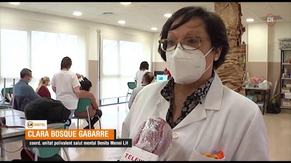 Dra. Clara Bosque, coordinadora Unitat Polivalent Benito Menni l'Hospitalet