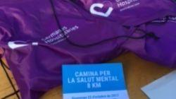 300 personas en la caminada popular por la Salud Mental de Granollers