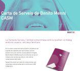 Benito Menni CASM renueva la acreditación de la Carta de Servicios